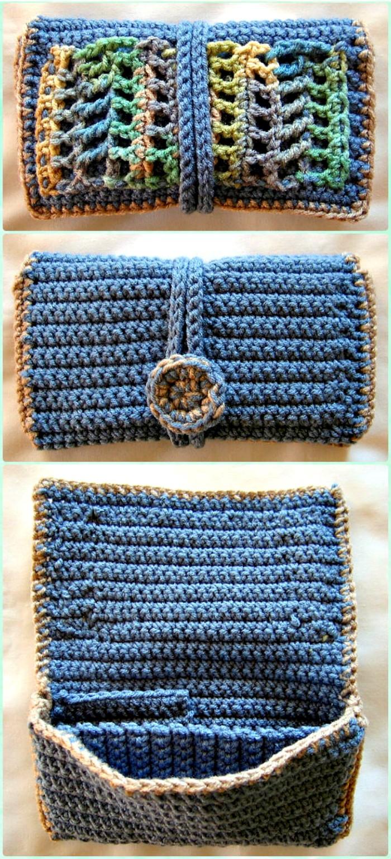 Crochet Clutch Wallet Free Patterns - crochet clutch bag